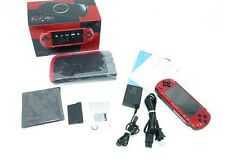SONY PSP Console Value Pack Red & Black Japan RARE COLLECTORS ITEM EMS Excellent