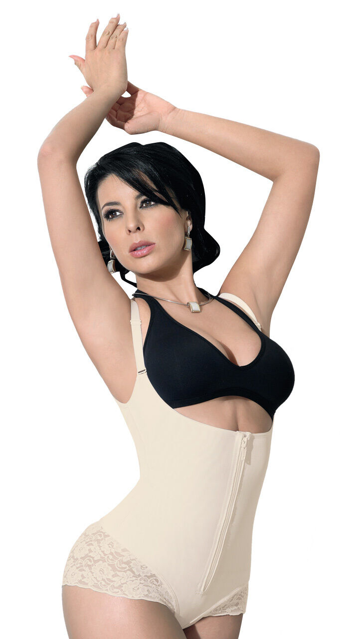 Girdle shapes your abdomen and lift your breast Firm Control Shapewear 12851