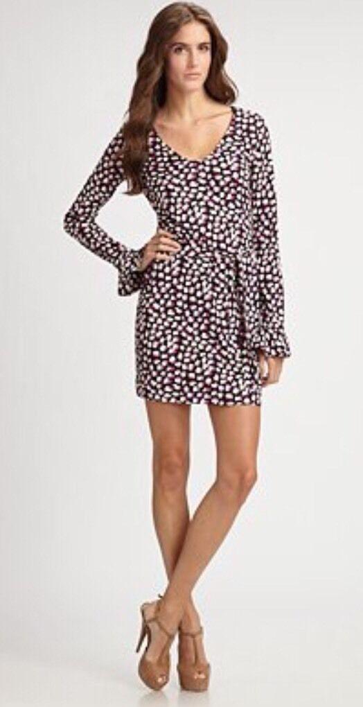NWT Diane Von Furstenberg DVF Nazli Dress Größe 14 NEW