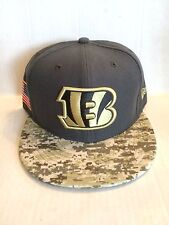 Cincinnati Bengals New Era 59Fifty NFL 2016 Salute to Service Fitted Hat 7  1 4 ad10af8a5c7