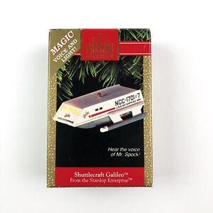 1992-Hallmark-Star-Trek-Shuttlecraft-Galileo-Magic-Christmas-Ornament