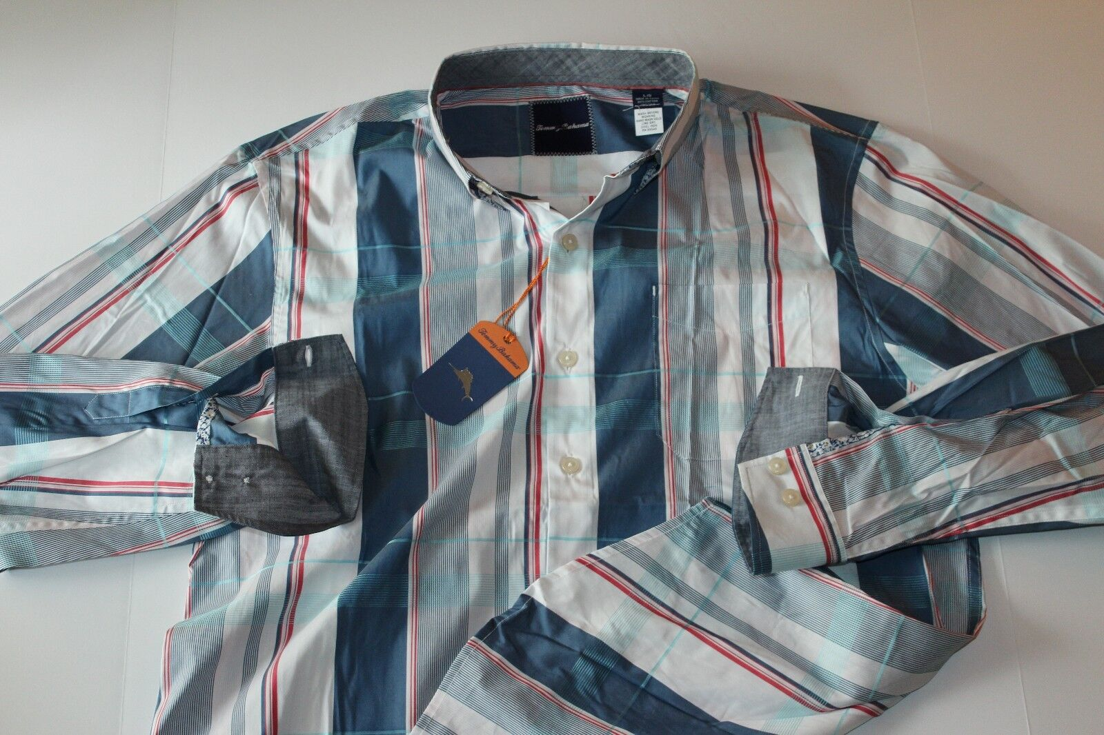 Tommy Bahama Uomo's Luau Floral Silk 115 Shirt, Shout, Size S, MSRP  115 Silk f61720
