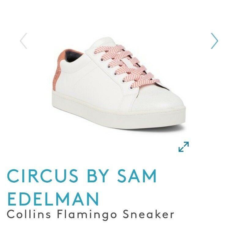 Circus by Sam Edelman Collins Flamingo Sneaker 6 NEW