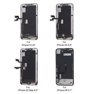 Details about LCD Touch Screen Display Digitizer Replacement for iPhone  X/XR/XS/XS Max BestOEM