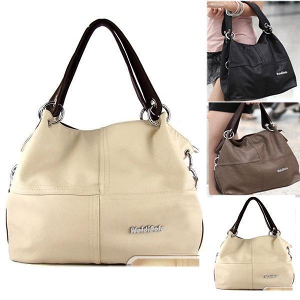 FC-104 Women's 2015 New Shoulder Tote Shopper Fashion Handbags Bags Free P&P