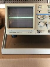 Kenwood Cs 4125 20mhz Oscilloscope 2 Channel