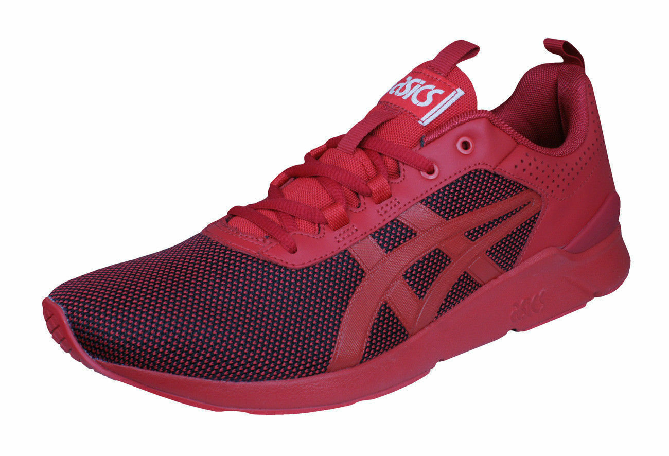 Asics Gel Lyte Runner Mens Running Trainers   Sports shoes - Red - Sizes 6-10.5