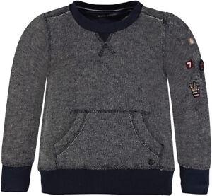 MARC-O-039-POLO-Sweatshirt-Vintage-mit-Patches-blau-92-98-104-110-116