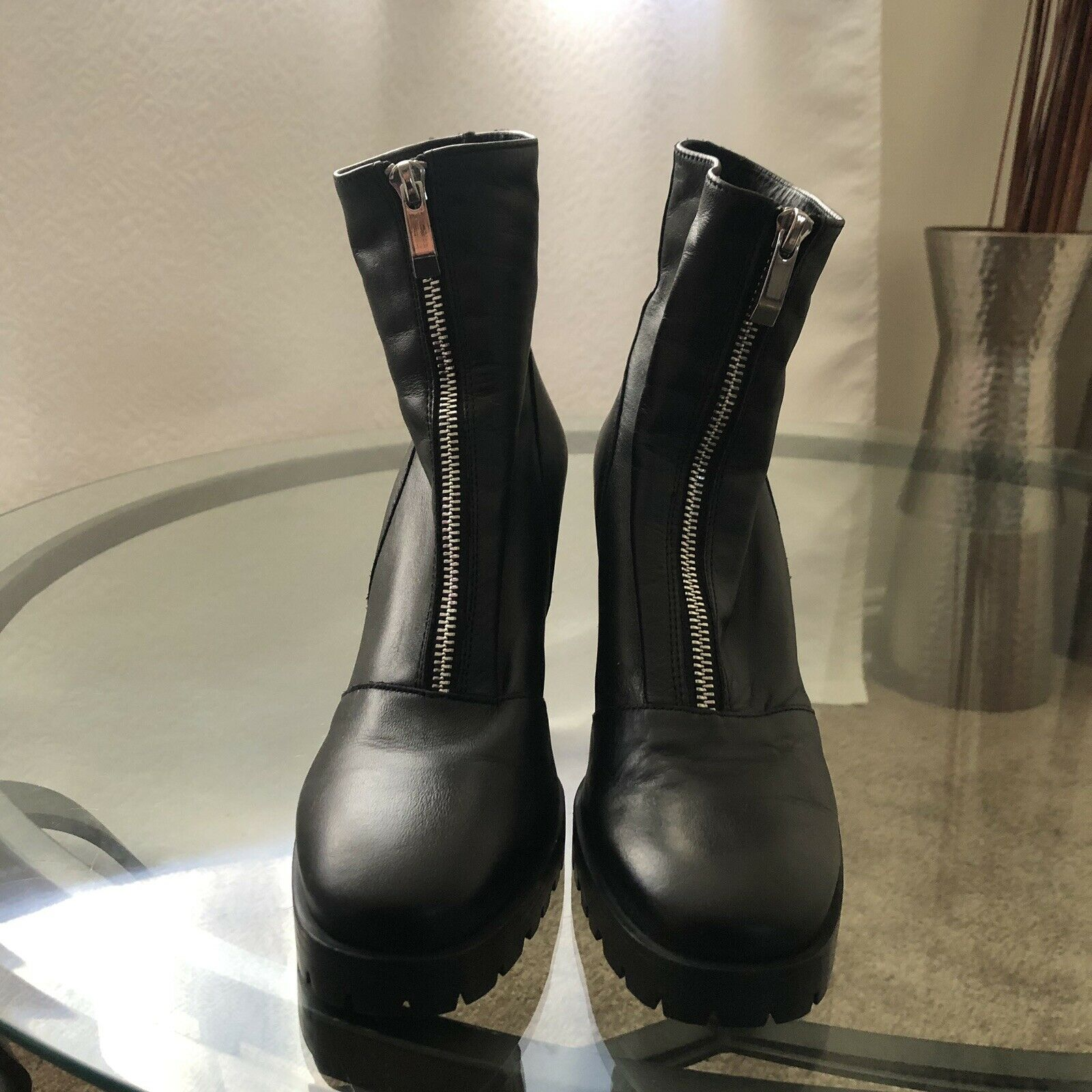 Zara Trafulac Boots Size 39