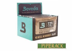 Boveda-72-Rh-2-Voies-Humidite-Controle-Grand-60-Gram-Taille-12-pack-Boite