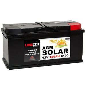 solarbatterie 12v 120ah agm gel usv batterie wohnmobil. Black Bedroom Furniture Sets. Home Design Ideas