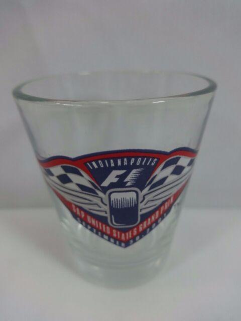 2001 Formula-1 United States Grand Prix Indianapolis Event Collector Shot Glass