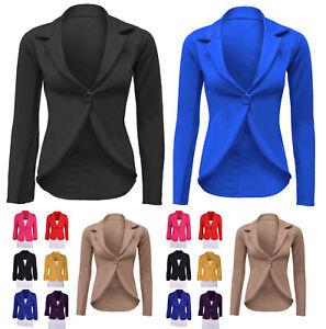 New-Women-s-Ladies-Crop-Frill-Shift-Slim-Fit-Peplum-Blazer-Jacket-Coat-Size-slmj