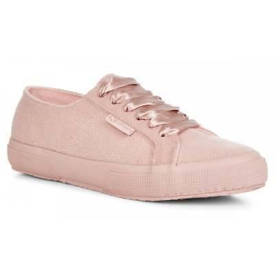 Superga 2750 New Pink Wool Fluffy