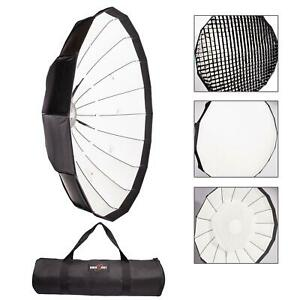 Easy-Open-120cm-Softbox-Honeycomb-Grid-Umbrella-Beauty-Rapid-Box-Bowens-S-Fit-UK