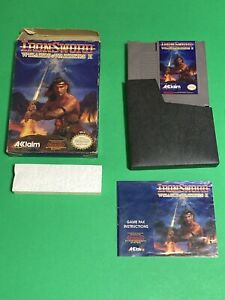 ORIGINAL-NINTENDO-NES-100-COMPLETE-WIZARDS-AND-WARRIORS-2-IRONSWORD