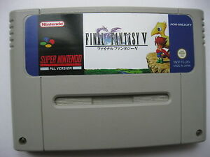 Final Fantasy V 5 for Super Nintendo SNES PAL English - Warszawa, Polska - Final Fantasy V 5 for Super Nintendo SNES PAL English - Warszawa, Polska