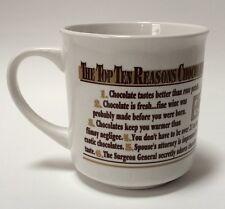 Top Ten Reasons To Love Rocky Mountain Chocolate Factory Coffee Cocoa Mug Cup