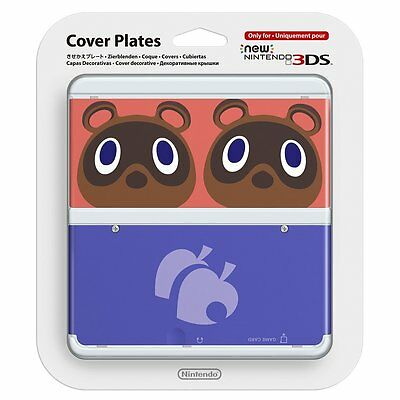 Animal Crossing Kisekae Cover Plates No.014 for new Nintendo 3DS Japan