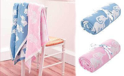 New Knitted Cozy Warm Baby Blanket Shawl Throw Newborn Bedding Gift 78x78