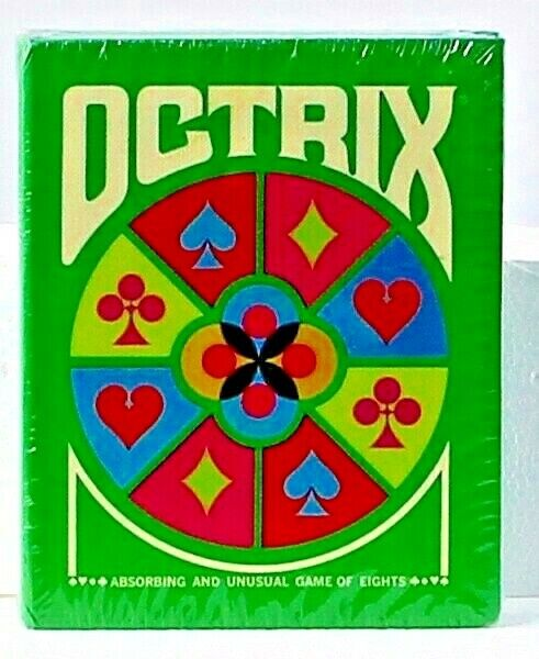 Octrix vintage 3M card game gamette 1970 complete NEW SEALED rare vintage retro