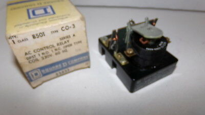 Square D Control Relay Class 8501 Type CO-3