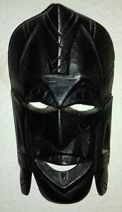 Maske Afrika,schwarz Handgeschnitzt