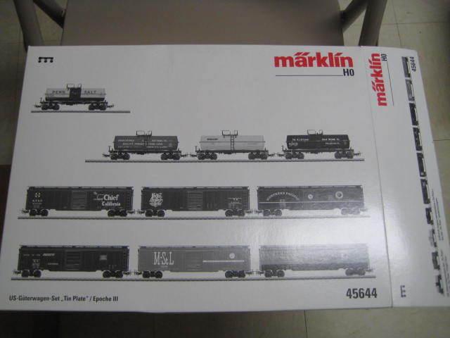 para proporcionarle una compra en línea agradable Marklin HO 45644 Set con  de hojalata    caja de Cochega Coches-Edición Limitada-Nuevo En Caja  popular
