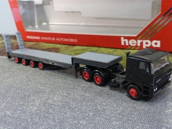 1 1 1 87 Herpa DAF 3300 Tieflader black Sattelzug 827007 62e0d3
