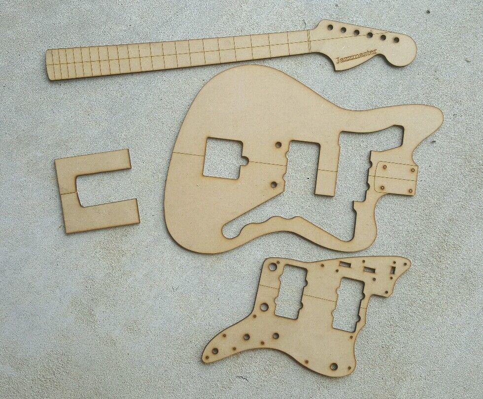 Conjunto de plantilla de de de Guitarra Jazzmaster  más vendido