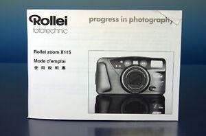 Rollei-Gebrauchsanleitung-Heft-booklet-manual-franzoesisch-Chinesisch-200263