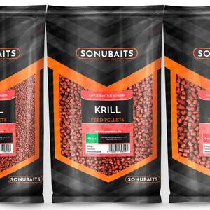 Sonubaits Krill Fishmeal Feed Pellets 900g.  ( € 7,77kg)