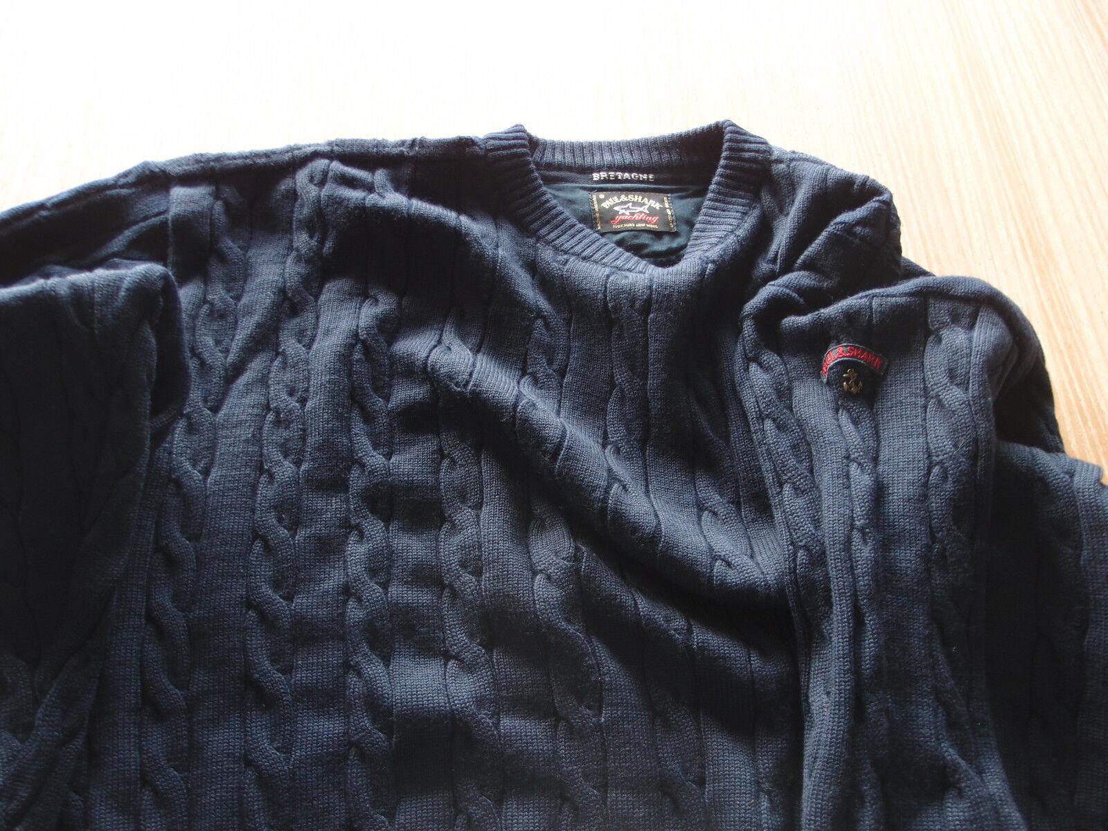 Paul & Shark Bretagne Classic Lana Winter Sweater Pura Lana Classic Vergine 84013a