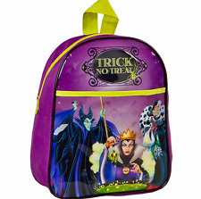 BNWT DISNEY VILLAINS MALEFICENT CRUELLA EVIL QUEEN TRICK NO TREAT BACKPACK PURSE
