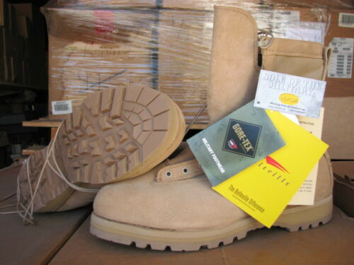 military 15 12 XW combat boots temperate GORETEX desert NEW tan Belleville USA