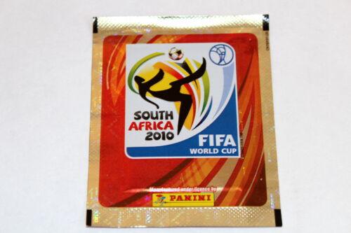 1 x Tüte packet bustina sobre SHINY GLITZER Panini WC WM 2010 South Africa
