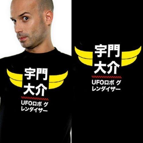 GOLDORAK GRENDIZER T-shirt GOLDOSHODO Taille S NEKOWEAR