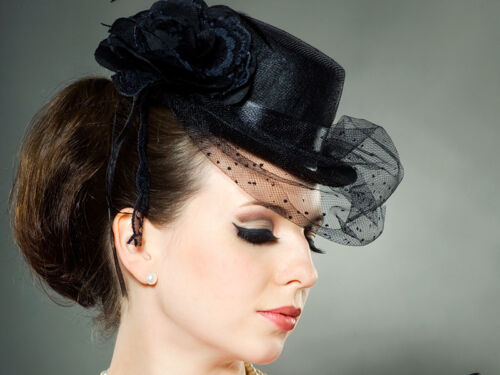 3 Hairstyles To Make Your Fascinator the Star of the Show 6e768540109