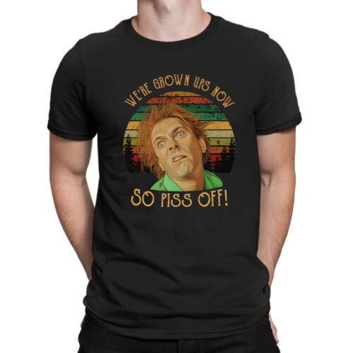 Drop Dead FreEd We're Grown Ups Now So Piss Off Sunset Vintage Retro Men T-Shirt