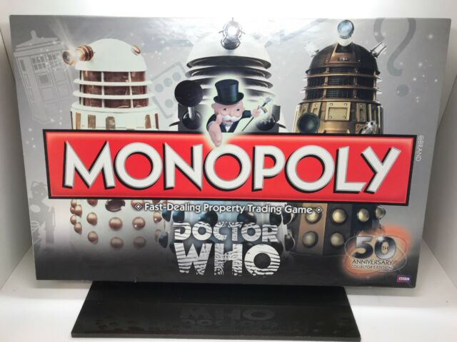 Doctor who monopoly 50th anniversary collector's edition from.