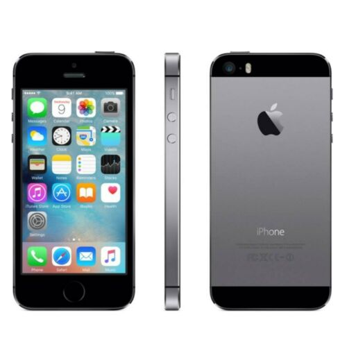 1 of 1 - Apple IPhone 5S - NEW - Space Grey 16GB Factory Unlocked Smartphone Sealed Box