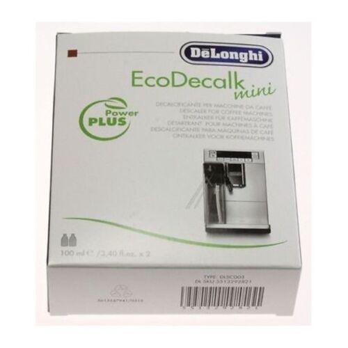 DECALCIFICANTE MACCHINA CAFFE DE LONGHI ECODECALK MINI DLSC200 2 FLACONI 100 ML