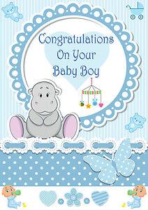 Its A Boy Baby Boy Birth Banner Congratulations Its A Baby