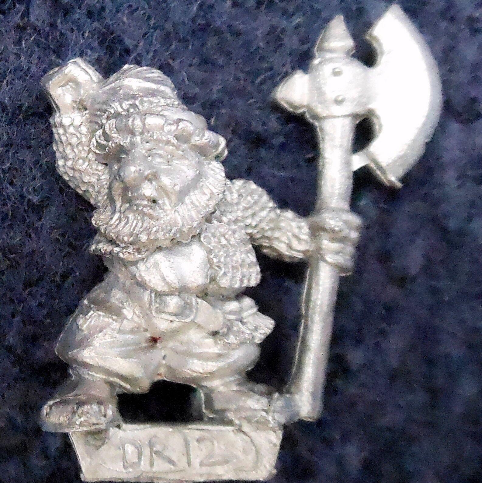 1989 Marauder MM15 DR12 Dwarf Landsnecht MM15 2 Landsknecht Warhammer Regiment