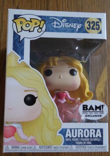 Exclusive Disney 325 Aurora Glitter Sticker BAM Funko Pop