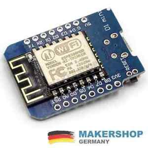 D1-Mini-ESP8266-WLAN-Mikrokontroller-Wifi-Nodemcu-Modul-Board-Wemos-Arduino