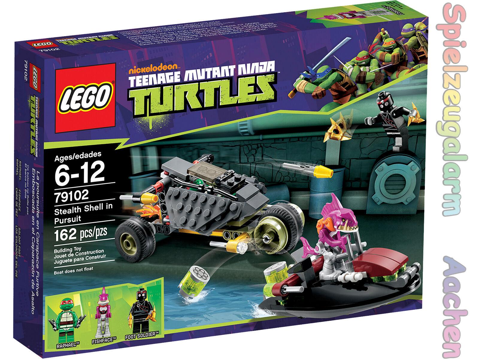 LEGO 79102 TURTLES Verfolgungsjagd Stealth Shell in Pursuit La poursuite en Cara