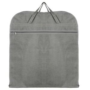Hoesh-Men-Breathable-Grey-Travel-Suit-Carrier-Cover-Garment-Bag-Full-Length-Zip