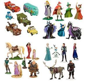 Disney-Toy-Cars-Cinderella-Sleeping-Beauty-Tangled-Frozen-Elsa-Anna-Box-Set-Toys
