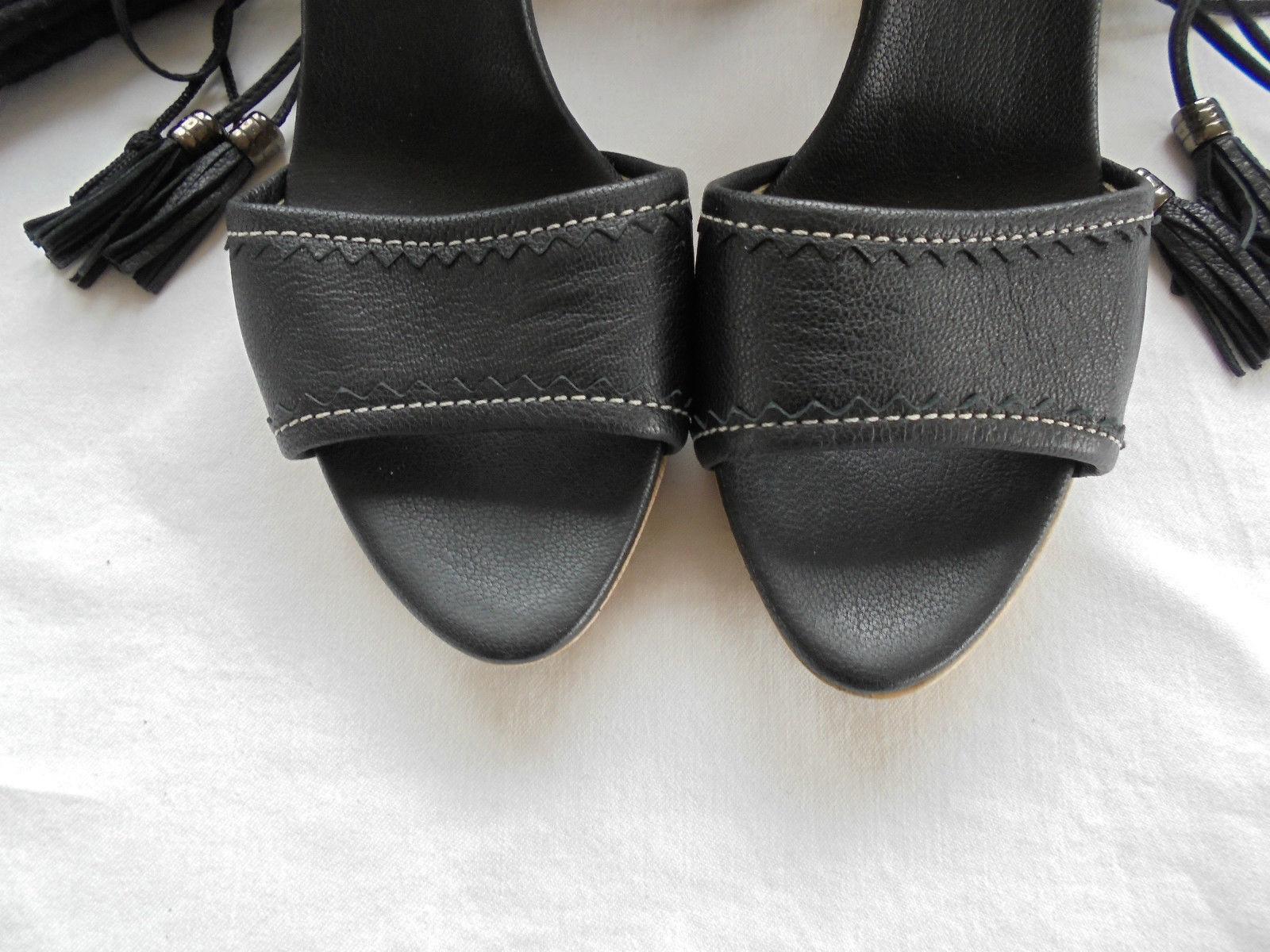 Hugo Boss Leder High Heels NP:  w NEU Clogs 39 Sandalen Schuhe Pumps Gr. 39 Clogs 06732d